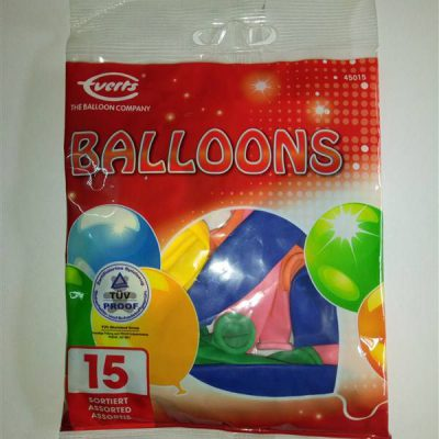 Assorted 15s Balloons