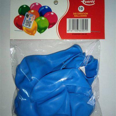 Standard Lightblue 10s Balloons